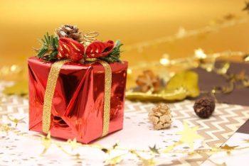 クリスマスのプレゼントを渡すタイミング。画像はクリプレのみ。
