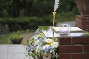 結婚式の「誓い」をイメージした画像