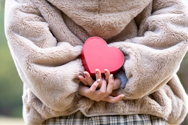 バレンタインチョコの可愛い渡し方