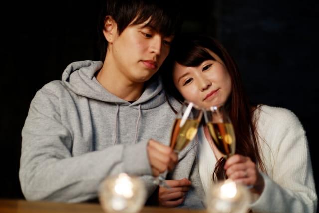 女性が好きになる過程を経て付き合ったカップル