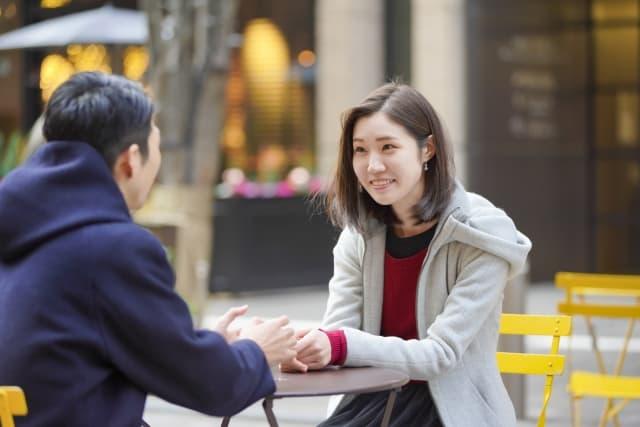 彼女が満足する彼氏との会話風景